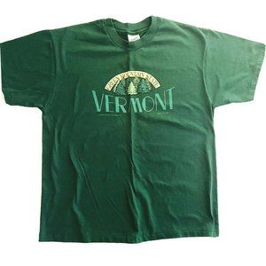 Vintage 1993 Vermont Green Mountain State T-Shirt